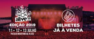Bilhetes para o NOS Alive'19 já à venda